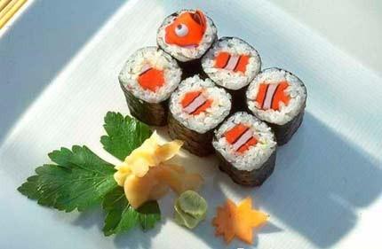 vignette sushi