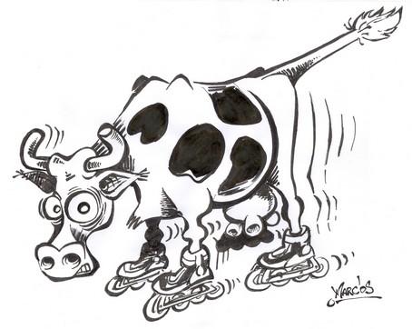 vache à roller