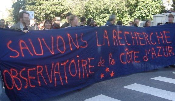 manif observatoire