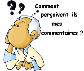question sur mes comms