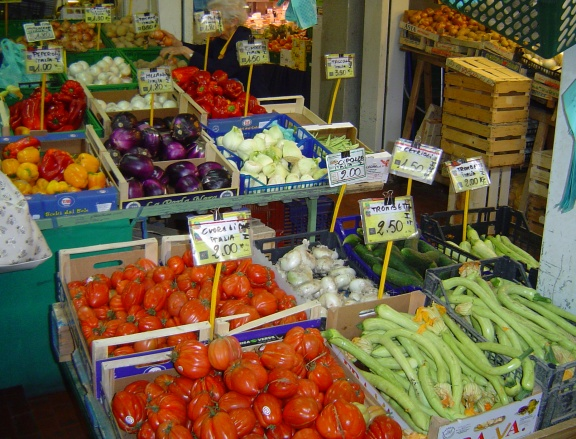 frutti i verduri E