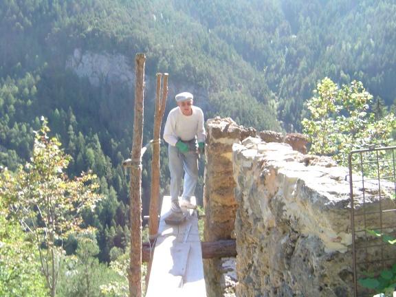 Ch 30 septembre 2005 sommet mur