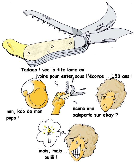 le couteau à greffer 1