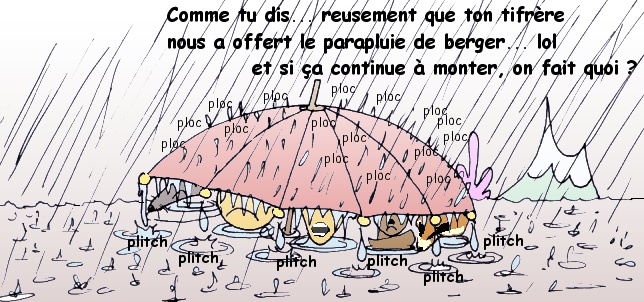 parapluie très utile