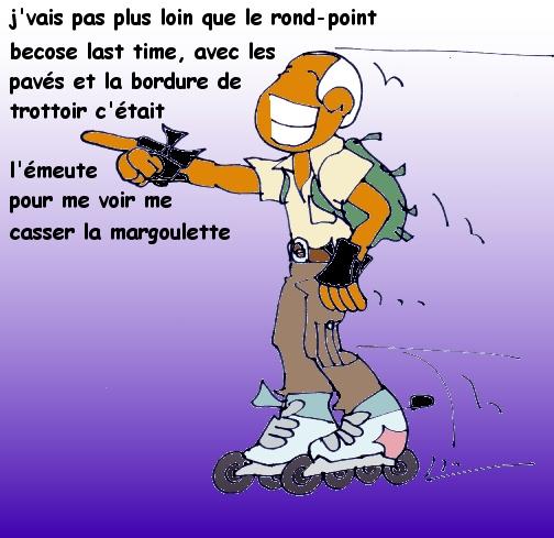 Roller au Havre