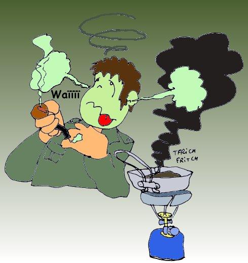 fumer le mélèze
