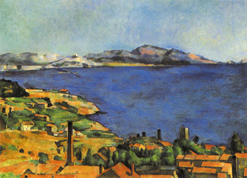 Marseille Estaque Cézanne