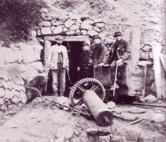 mine de cuivre du Cerisier 1870