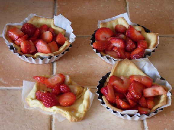 coûtes aux fraisesr