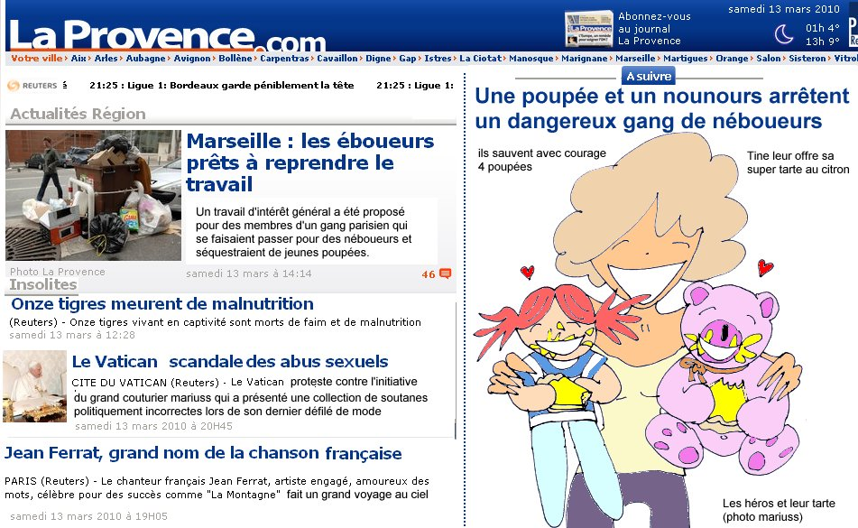 Provence poupée