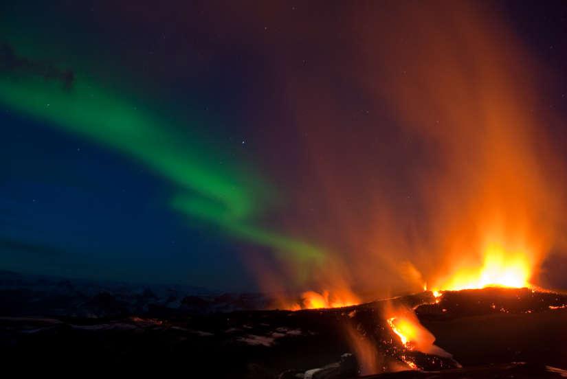 aurore volcan